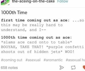 ace, asexual, and lgbta image