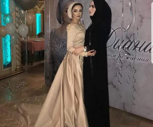 beauty, hijab, and party image