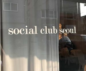 aesthetic, seoul, and cafe image