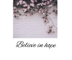 believe, pink, and text image