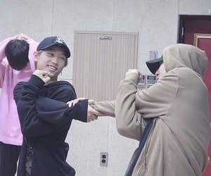 Chan, felix, and jeongin image