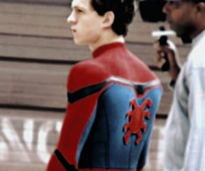 Marvel, tom holland, and spider man image
