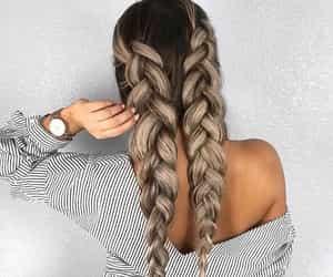 beautiful, blonde, and long hair image