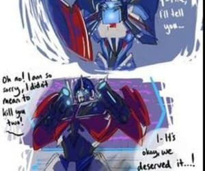 fanart, optimus prime, and cute image