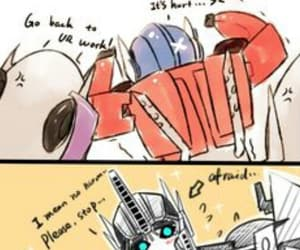 funny, ko, and optimus prime image