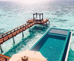 pool, sea, and ocean image