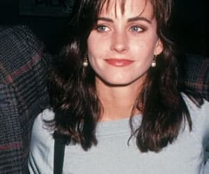 friends, 90s, and Courteney Cox image