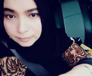 hijab, me, and good heart image