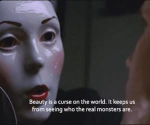 beauty, quotes, and monster image