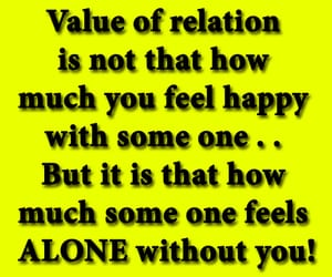 alone, quotes, and relationships image