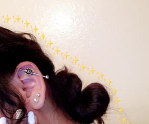 ear, inspiration, and piercing image