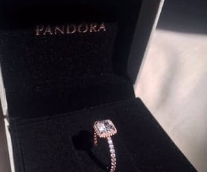 ring, pandora, and luxury image