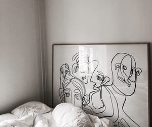 art, vogue, and bed image