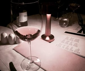 wine, pink, and drink image