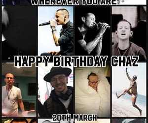 bennington, chester, and happy birthday image