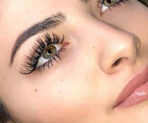 beautiful, goal, and lashes image