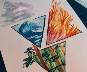 air, art, and triangle image