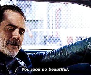 gif, the walking dead, and negan image