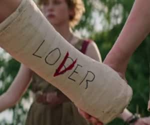 it, lover, and movie image