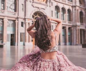 backless, beautiful, and girl image