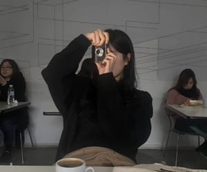 aesthetic, ulzzang, and cafe image