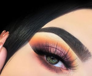 beautiful, eyes, and green eyes image
