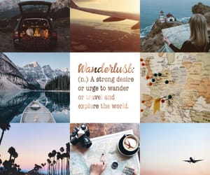 aesthetic, mood board, and travel image