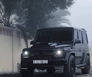 benz, black, and cars image