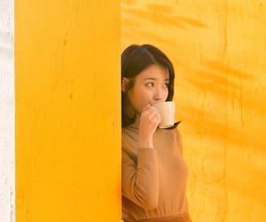 aesthetics, kpop, and yellow image