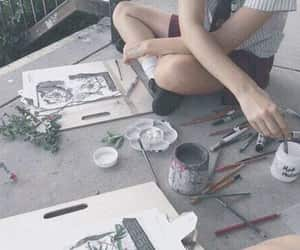 aesthetic, beautiful, and art image