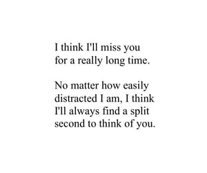 deep, love quotes, and missing you image