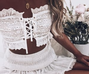 white, fashion, and style image