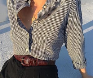 belt, fashion, and striped image