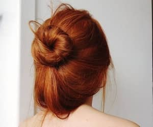 hair, girl, and redhead image