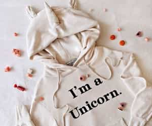 hoodie, unicorn, and trend image