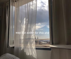 aesthetic, window, and sky image