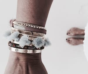 bracelet, girl, and style image