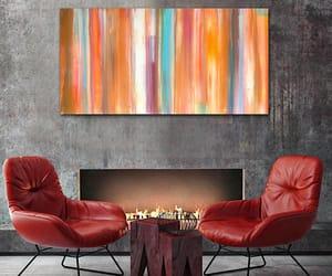 art, wall decor, and colorful decor image