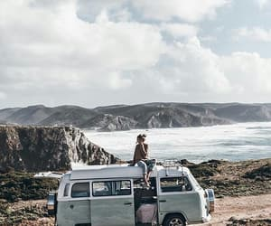 travel, van, and portugal image