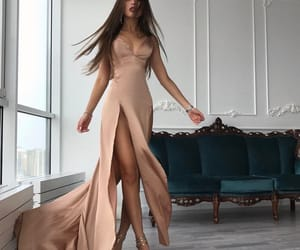 body, dress, and hair image