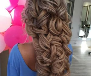 coiffure, sun, and hairstyle image