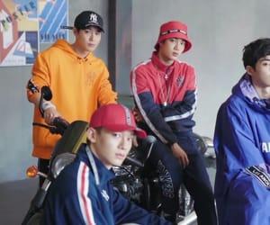 Chen, exo, and kim image