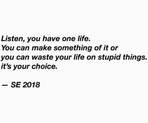 depressed, good life, and quote image