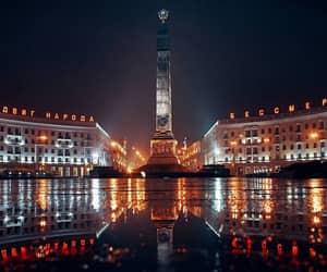belarus, minsk, and night image