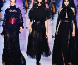 elie saab, ready to wear, and paris fashion week image