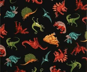animal, background, and dinosaur image