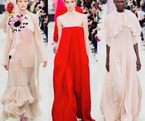 fashion show, runway, and Valentino image