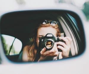 car, coche, and espejo image