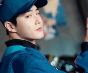 gif, exo, and kim junmyeon image