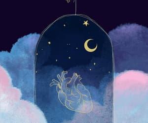 gif, stars, and love image
